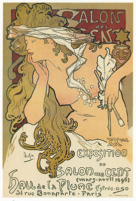 Painting - Exhibition Poster, 1896 by Granger