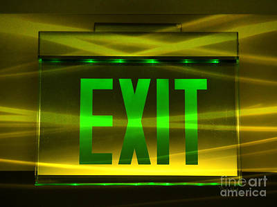 Photograph - Exit Confusion by Darla Wood