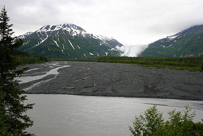 Photograph - Exit Glacier by Betty-Anne McDonald