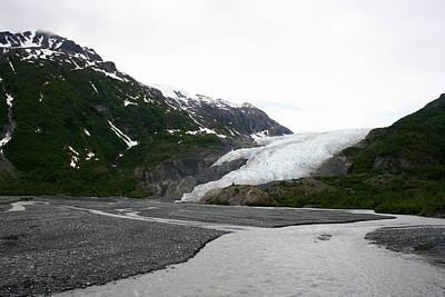 Photograph - Exit Glacier Outwash by Betty-Anne McDonald