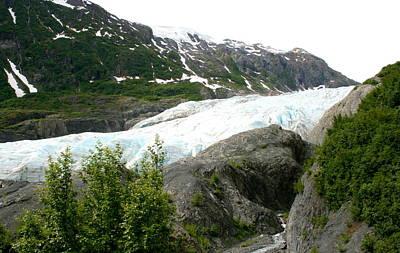Photograph - Exit Glacier Seward Alaska by Betty-Anne McDonald