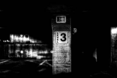Cinematic Photograph - Exit Level 3 by Bob Orsillo