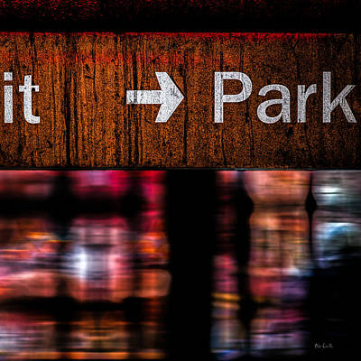 Photograph - Exit Park by Bob Orsillo