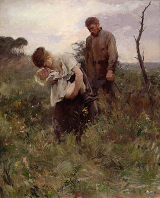 Shame Painting - Exodus, 1893 by Alfred Roll