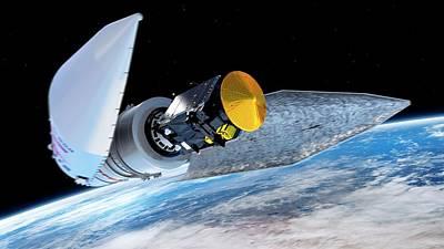 Exomars Spacecraft Deployment Art Print by European Space Agency/atg Medialab
