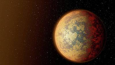Extrasolar Photograph - Exoplanet Hd 219134b by Nasa/jpl-caltech
