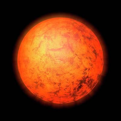 Extrasolar Planet Photograph - Exoplanet by Mikkel Juul Jensen
