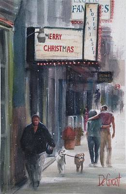 Painting - Exotic Fantasies In The Oregon District by Gregory DeGroat