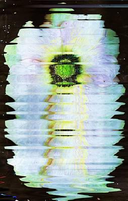 Exotic Floral Escalation Art Print by Anne-Elizabeth Whiteway