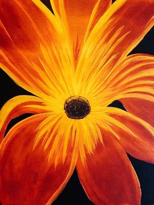 Exotic Flower Art Print by Amanda Batten