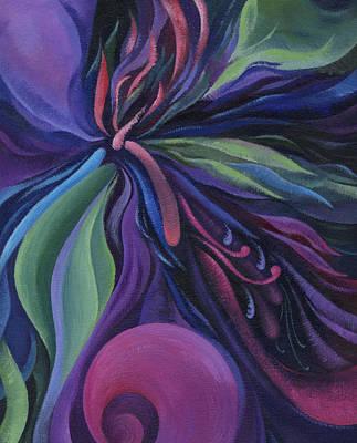 Painting - Exotic Flower by Natasha Denger
