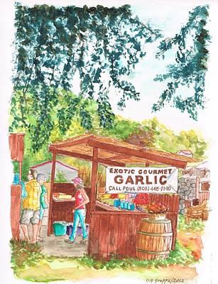 Exotic Gourmet Garlic In Los Olivos - California Original