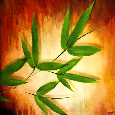 Bamboo Forest Digital Art - Exotic Grace by Lourry Legarde