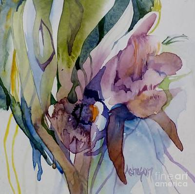 Painting - Exotic Plants by Donna Acheson-Juillet