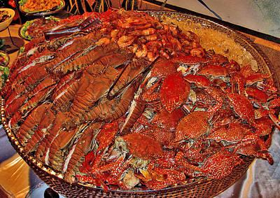 Exotic Seafood Texture. Siam Texture. Original