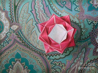 Drawing - Exotic Serenity by Ranjini Venkatachari