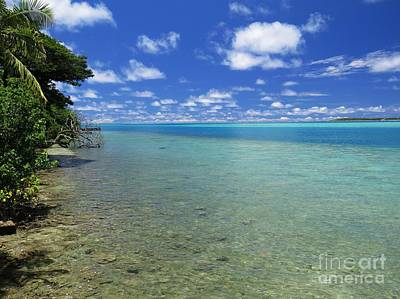 Paradise Photograph - Exotic Tropical Island Paradise by Scott Cameron