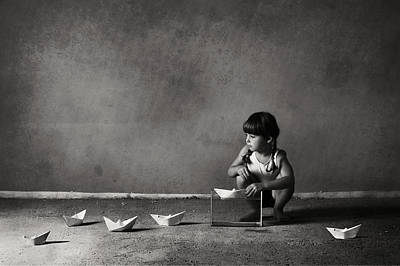 Origami Photograph - Expanding The Horizons Of Imagination.. by