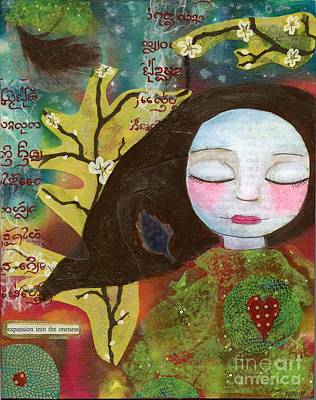 Painting - Expansion Into The Oneness by AnaLisa Rutstein