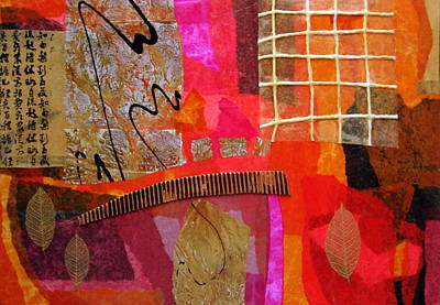 Fuschia Mixed Media - Expectations 1 by Heather Assaf