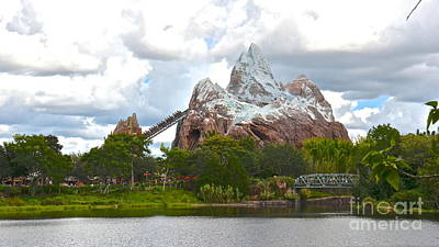 Photograph - Expedition Everest by Carol  Bradley