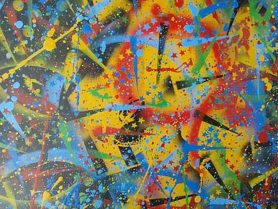 Experiment In Abstraction Art Print