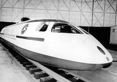 Photograph - Experimental High Speed Train by Underwood Archives
