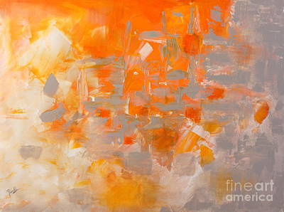 Painting - Explode by Preethi Mathialagan