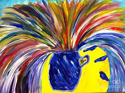 To Heal Painting - Exploding Breakthrough  by Stephanie Wogoman