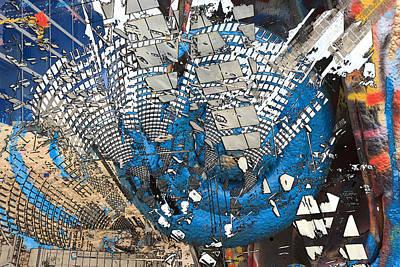Photograph - Exploding Graffiti by Don Gradner
