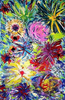 Painting - Exploding Vegetation by Mark Watson