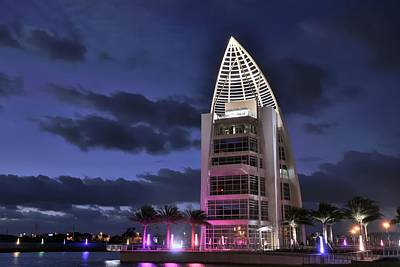Photograph - Exploration Tower At Twilight by Bradford Martin