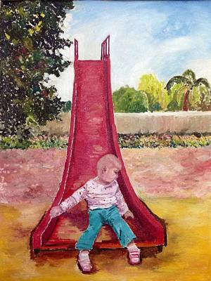Painting - Exploring by Aditi Bhatt
