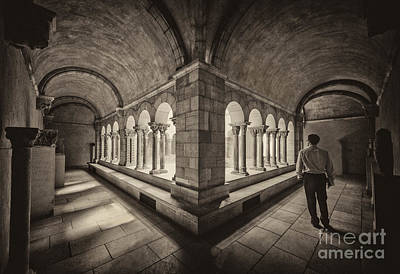 Photograph - Exploring Cloisters by Ray Warren