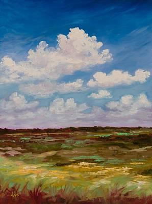 Exploring Paynes Prairie Original by Eve  Wheeler