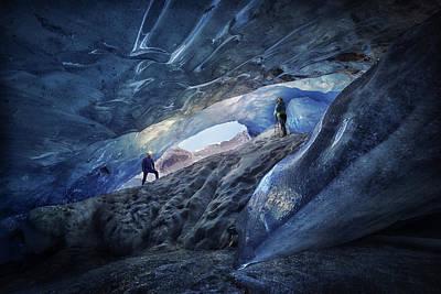 Rocky Mountains Photograph - Exploring The Blue by Clara Gamito