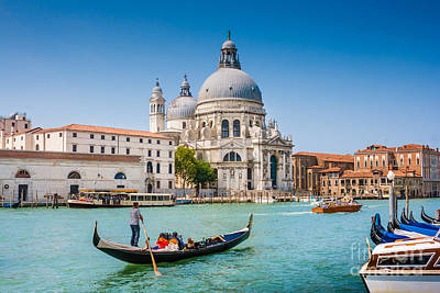 Town Photograph - Exploring Venice by JR Photography