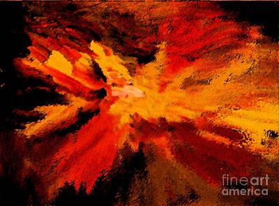 Photograph - Explosion by Karen Adams