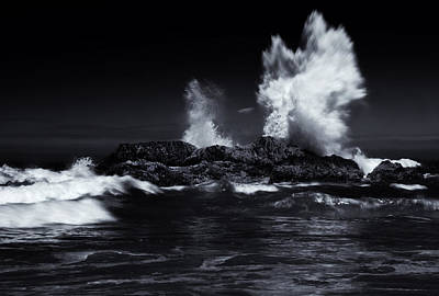 Waves Crashing Photograph - Explosion by Mike  Dawson