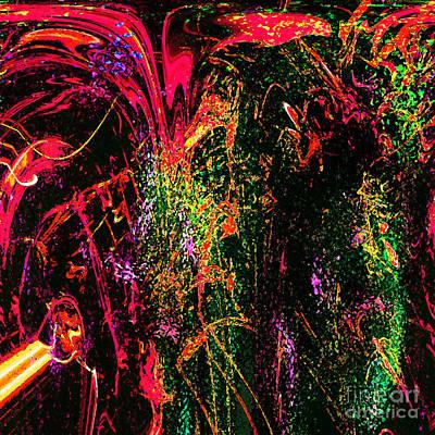 Explosion Of Desire Art Print by Ashantaey Sunny-Fay