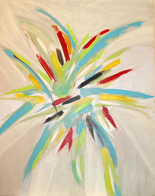 Painting - Explosion by Sandra Conceicao