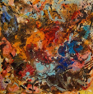 Explosive Chaos Art Print by Natalie Holland
