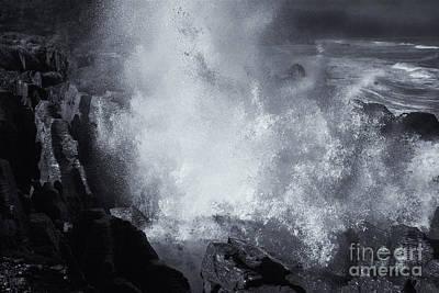 Explosive Sea Art Print