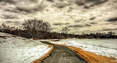 Augusta Photograph - Melting Of Snow by Ahmed Shanab