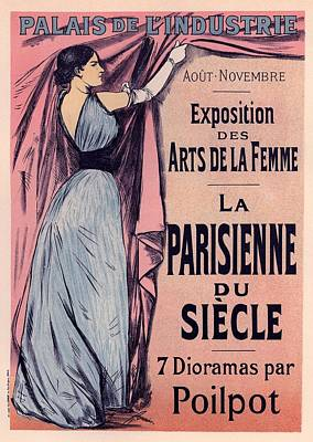 Exposition Des Arts De La Femme Art Print by Gianfranco Weiss