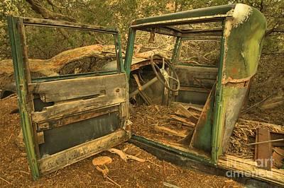Mining Truck Photograph - Extended Parking Spot by Adam Jewell