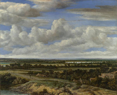 Painting - Extensive Landscape by Philip de Koninck