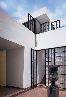 Photograph - Exterior Of Modern Building by Scott Frances