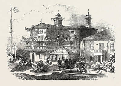 Exterior Of The Cottage Of The Mayor Of Southampton Art Print