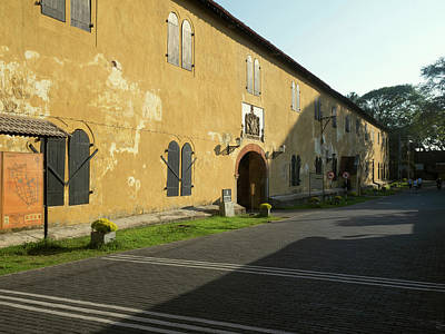 Southern Province Photograph - Exterior Of Warehouse Built by Panoramic Images
